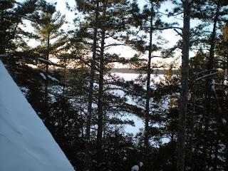 Burntside lake, december 2103, Ely, Minnesota, winter,