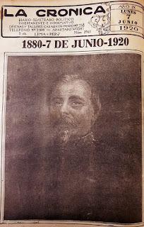 """""""Diario La Crónica"""" de 7 de junio de 1920"""