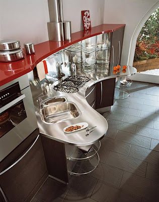 ergonomic kitchen