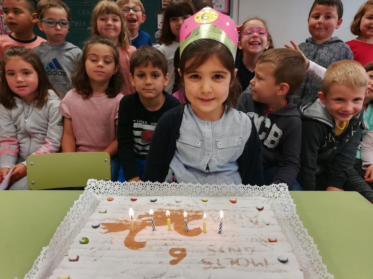 N'Aina ja té 6 anys!!