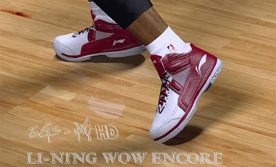 NBA 2K13 Li-Ning Dwyane Wade Encore Shoes Patch