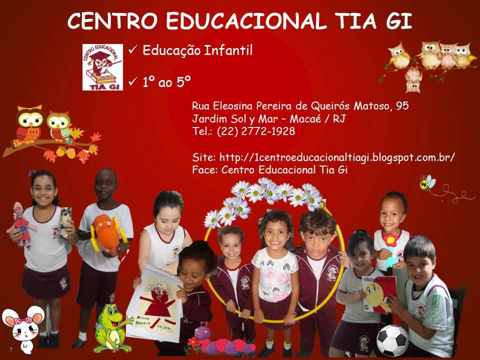 Novo blog do Centro Educacional Tia Gi