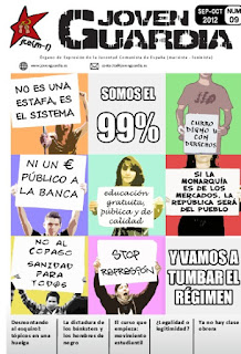 }Revista de la JCE(m-l) Joven Guardia No 9