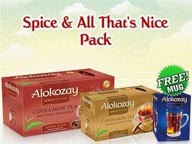 Alokozay Tea: Spice & All That Nice Pack