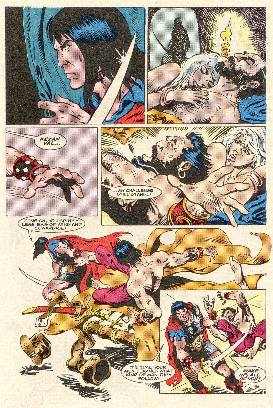 Conan the Barbarian (1970) Issue #186 #198 - English 12
