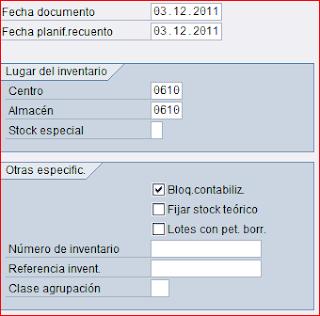 Documento de inventario