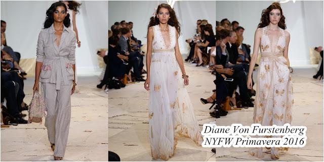 NYFW: Diane Von Furstenberg Primavera 2016