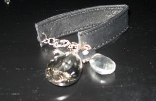 Zara Terez Leather and Crystal Bracelet
