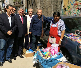 """Donación del RC de Caballito a la Fundación Margarita Barrientos """"Comedor Los Piletones"""""""