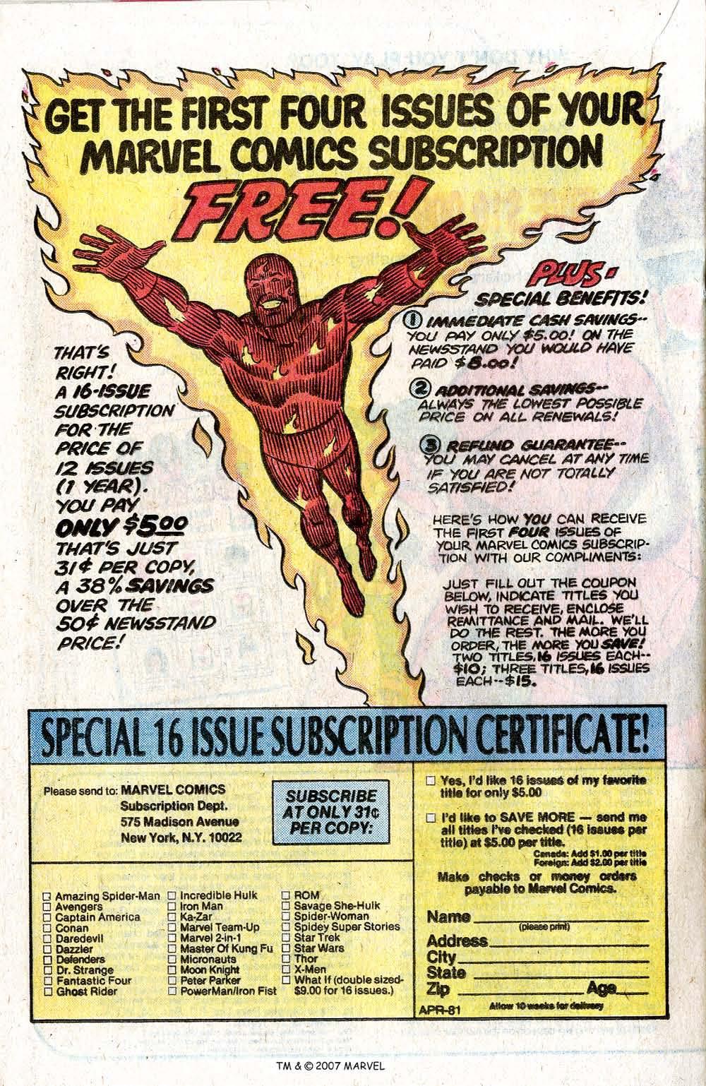 Captain America (1968) Issue #260 #175 - English 20