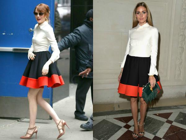 Emma Stone vs Olivia Palermo