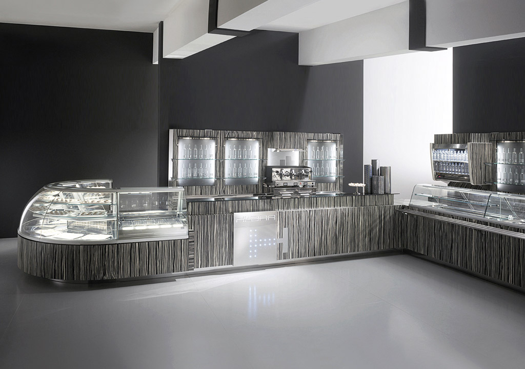 Arredo bar design e tecnologia ciam degart arredamento for Arredo bar design