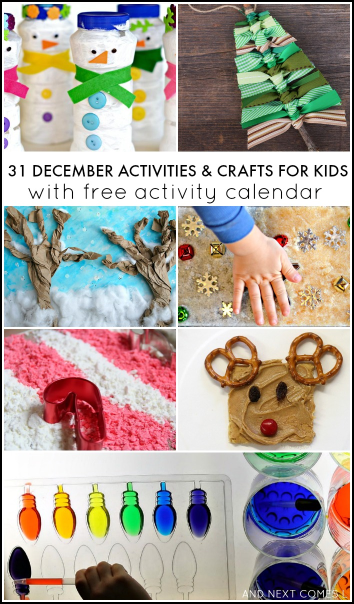 31 december activities for kids free activity calendar