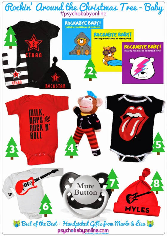 Rock and Roll Baby Gifts & Band Shirts