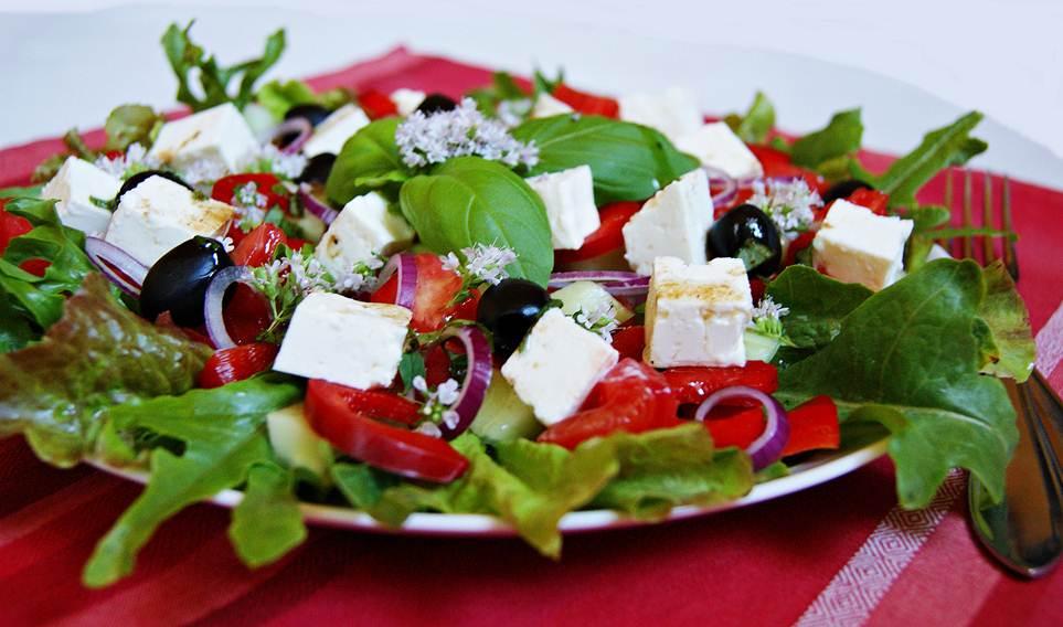 Grecka Salatka Przepis Przepis na sa Atk Greck