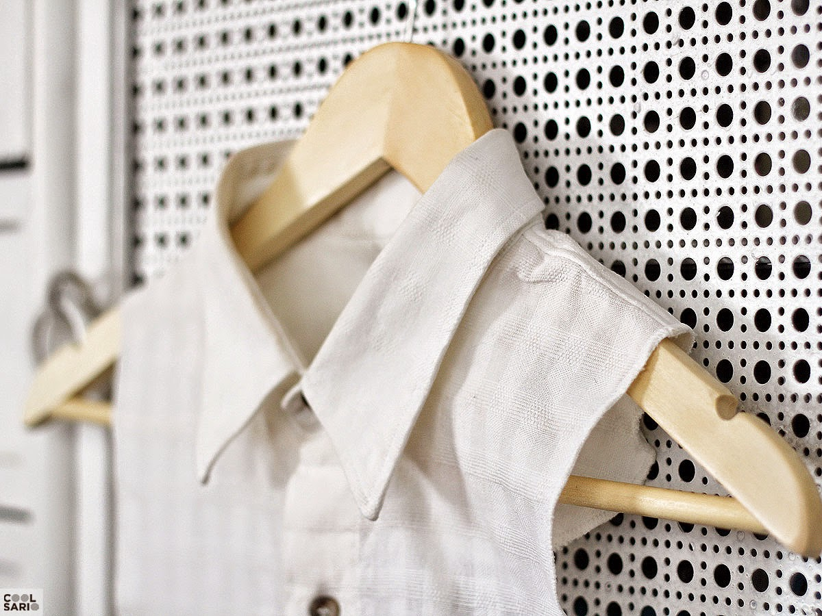 DIY Cuello Camisa - Shirt collar DIY