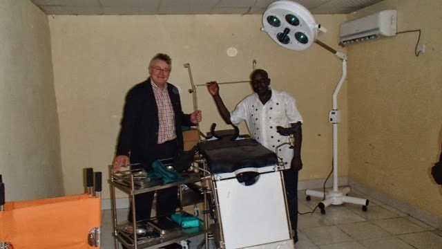 The Operating Theatre at Kimu Clinic