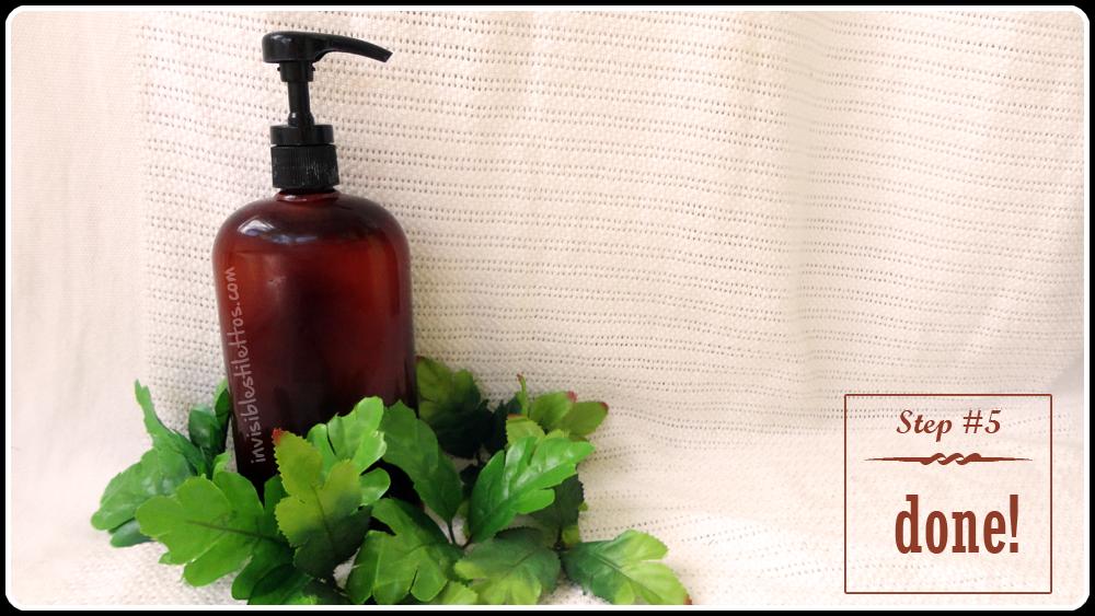 Homemade Hand Soap