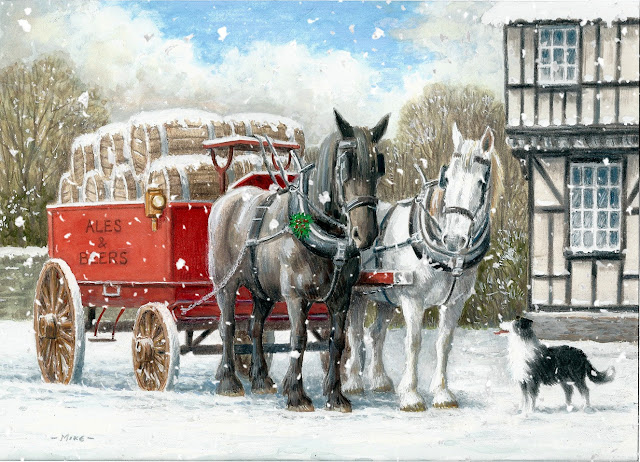 Charity Merry Christmas cards for Family