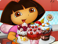 Dora'nın Lezzetli Fincan Keki