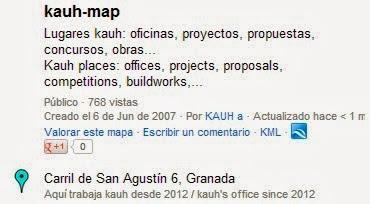 visita / visit kauh-map
