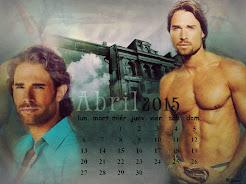 Calendario Mes abril
