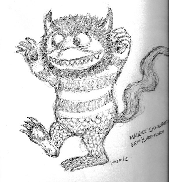 Where The Wild Things Are Sketch