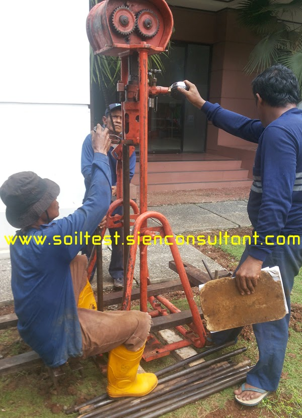 Soil Testing Geotechnical Engineering Tes Tanah Uji Sondir Cpt Bor Dalam Spt Pengujian Sondir Test Penting Untuk Pondasi Bangunan