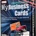 تحميل البرنامج الاحترافي في صنع البطائق المهنية, برنامج Professional My Business Cards مفعل.