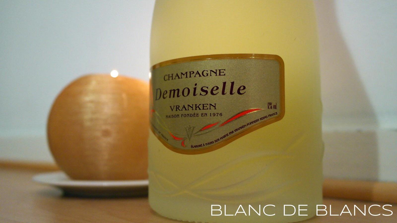 Demoiselle Vranken Cuvée Brut - www.blancdeblancs.fi
