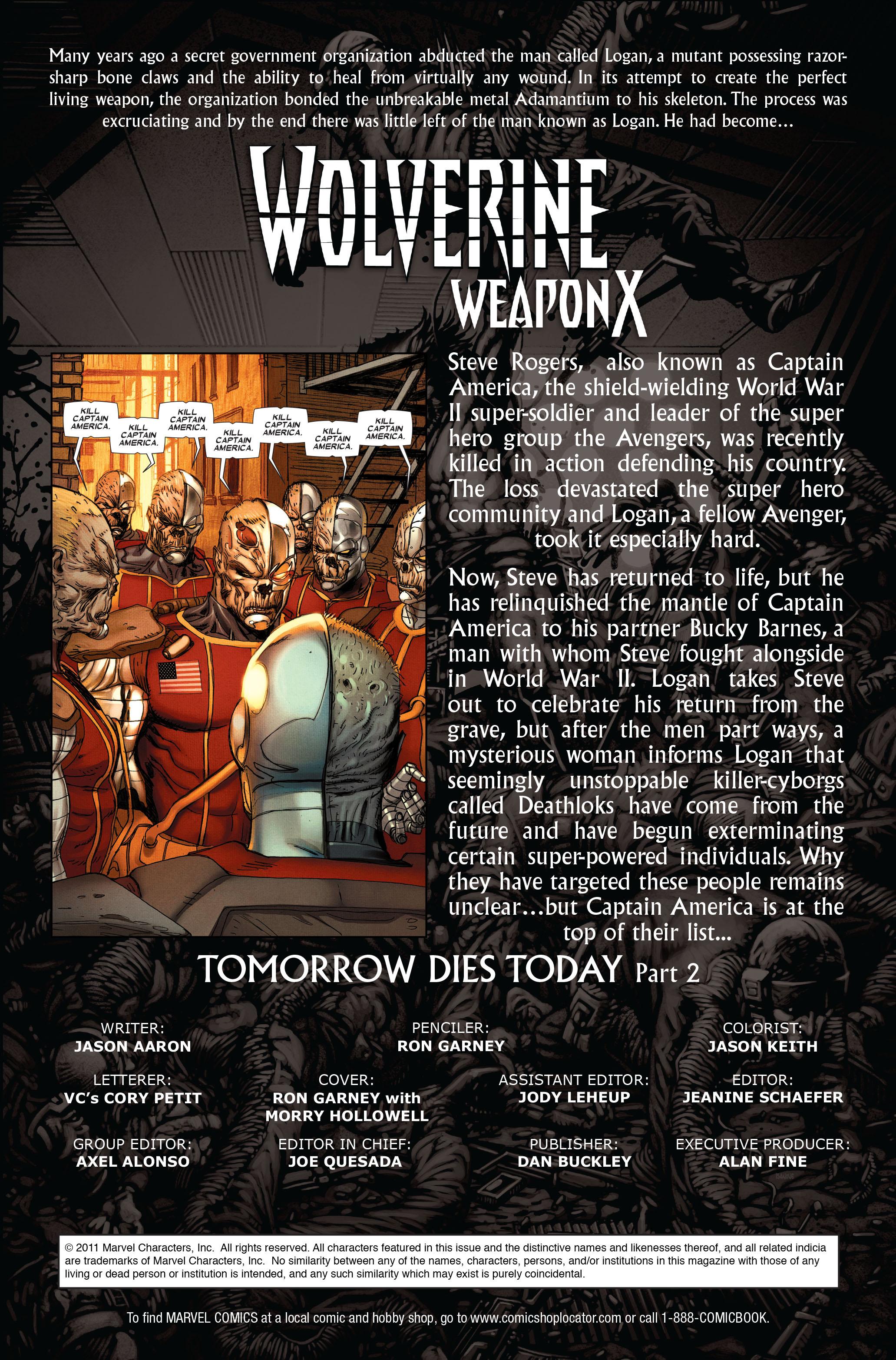 Wolverine: Weapon X #12 #5 - English 2