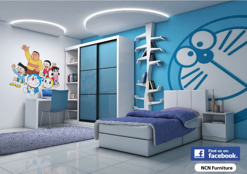 best home interior design doraemon kids bedroom
