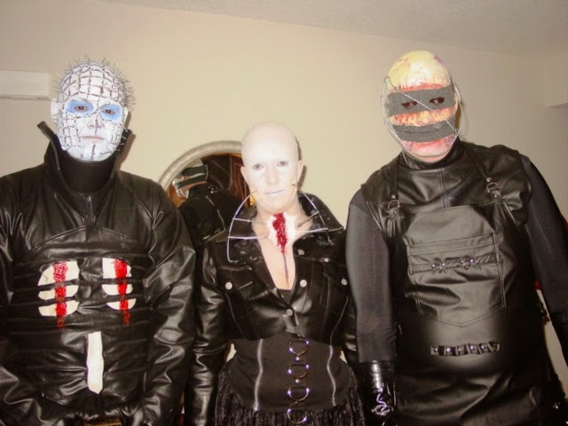 Pinhead and Cenobites Halloween Costumes