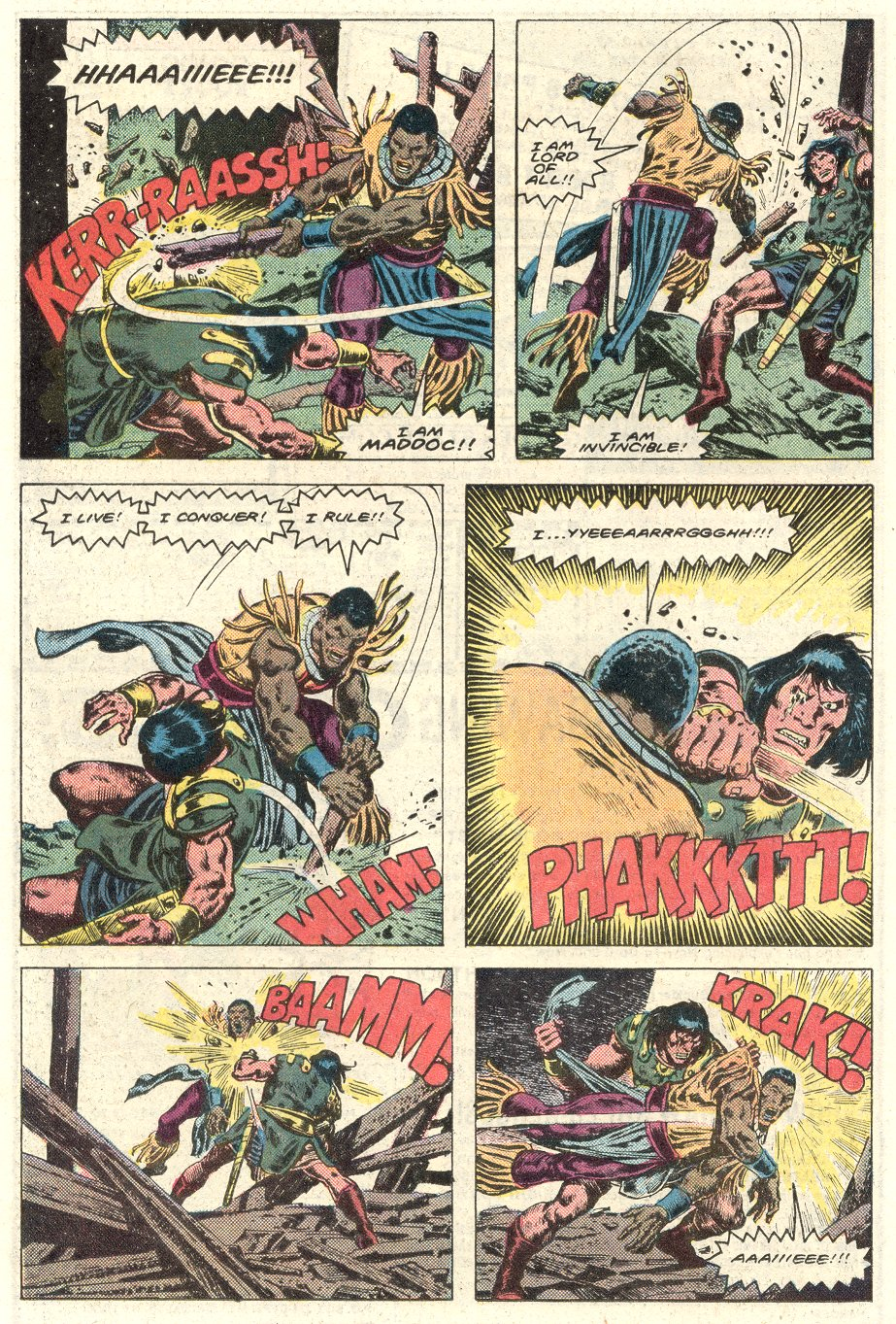 Conan the Barbarian (1970) Issue #184 #196 - English 19