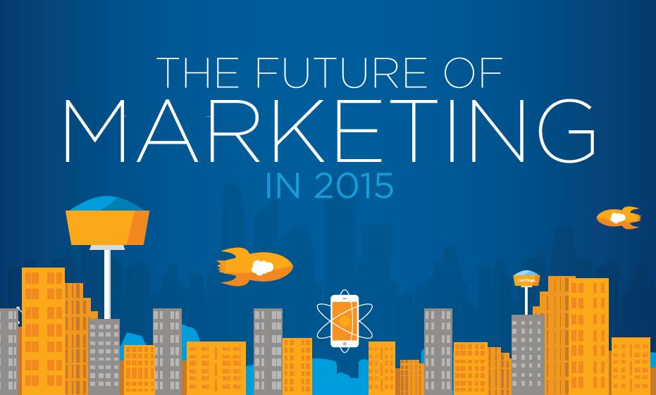 The Future Of #DigitalMarketing In 2015 - #infographic