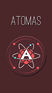 Screenshots of the Atomas for Android tablet, phone.