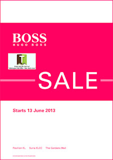 HUGO BOSS Sale 2013
