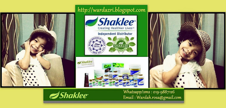 *ibu_batrisya* (SHAKLEE) ~My Happy Ending Life