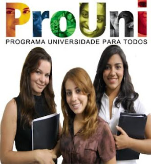 Inscrição para o Prouni começa no dia 17 de janeiro de 2013