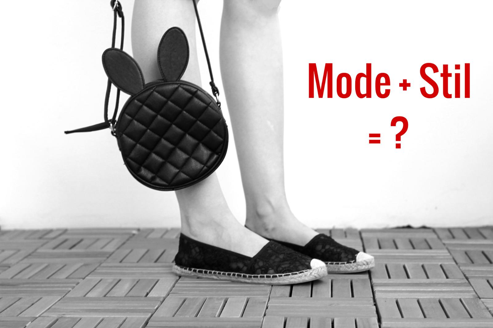 Über Mode und Stil