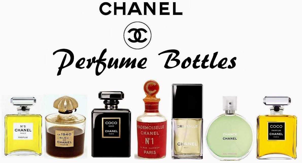 Chanel Perfume Bottles