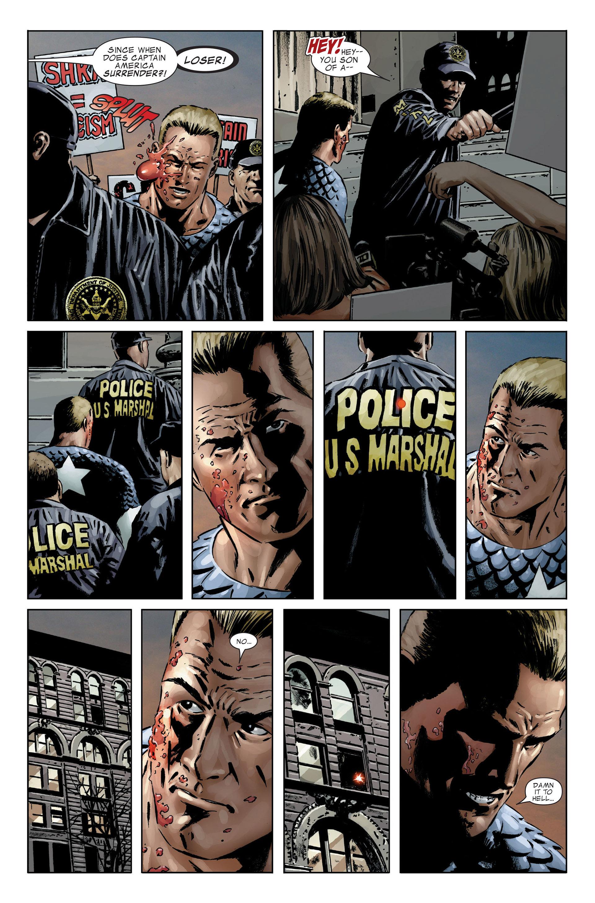 Captain America (2005) Issue #25 #25 - English 15