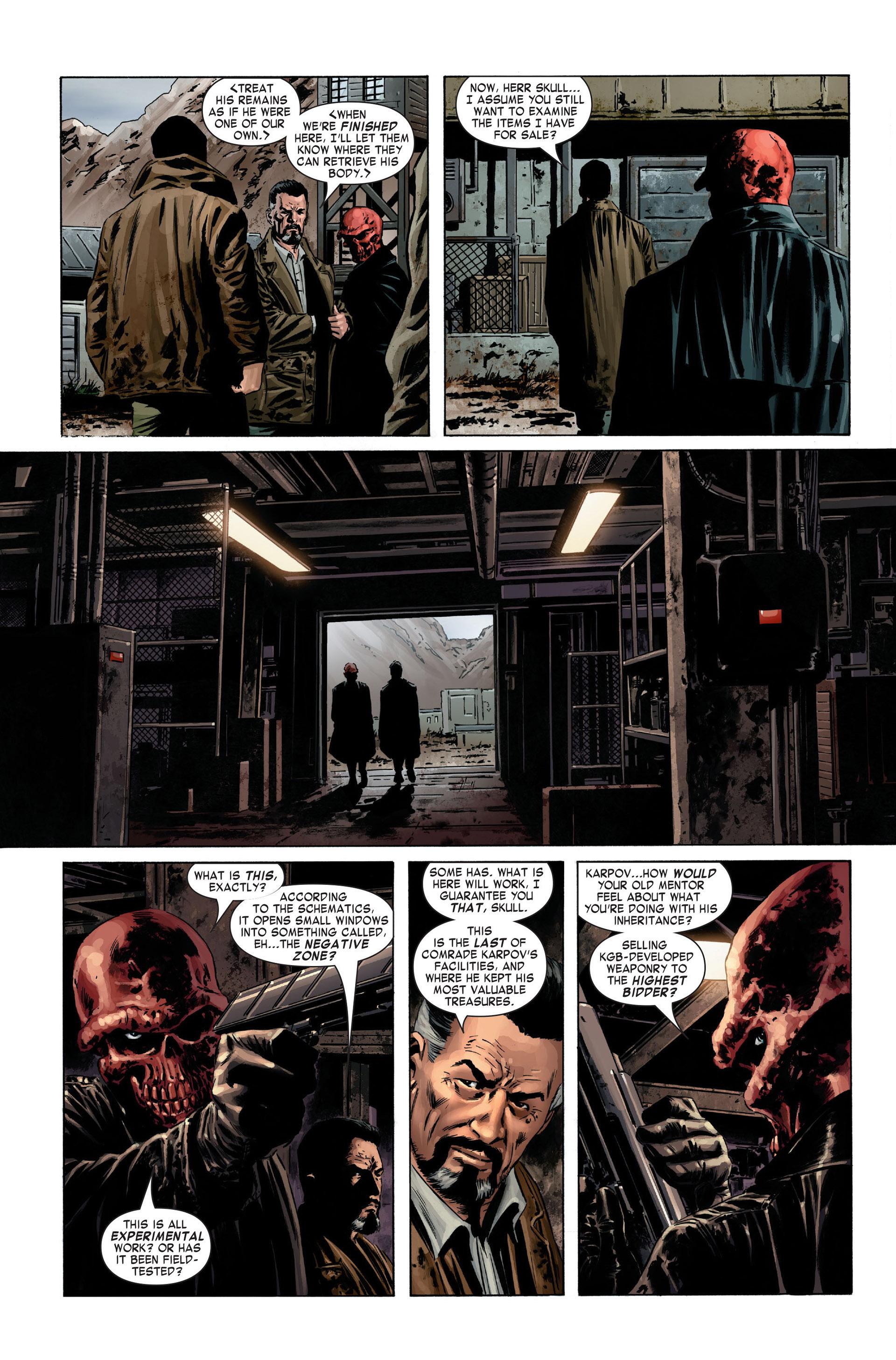 Captain America (2005) Issue #1 #1 - English 4