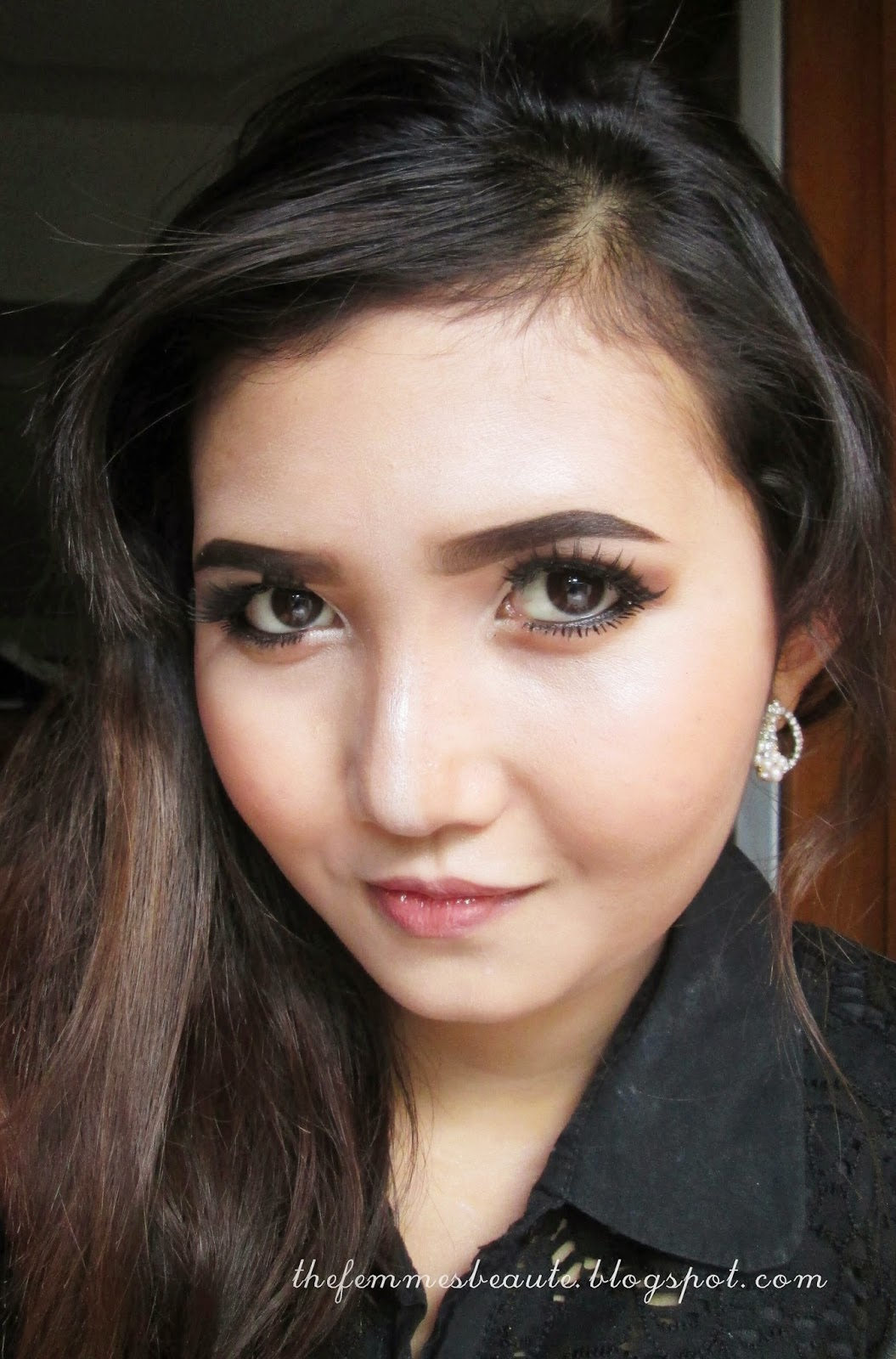 Thefemmesbeaute Flirty Night Party Makeup Look