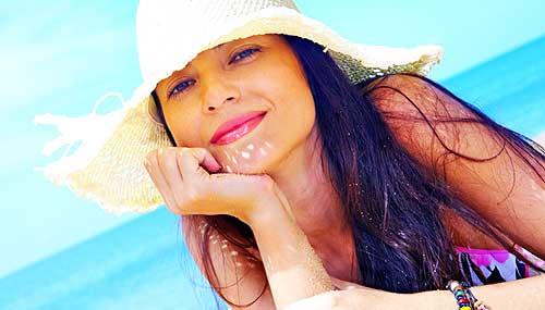 trucos y consejos para ir maquillada a la playa