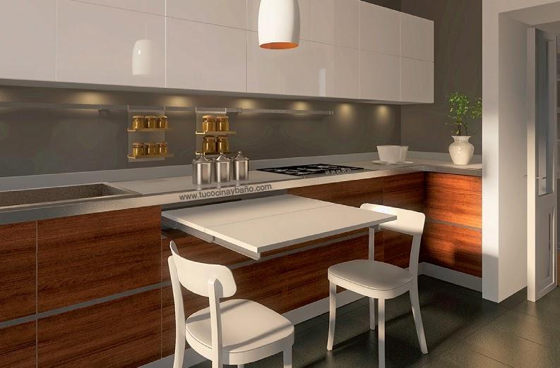 Lujo Mesa De La Cocina Compacta Ideas - Ideas para Decoración la ...
