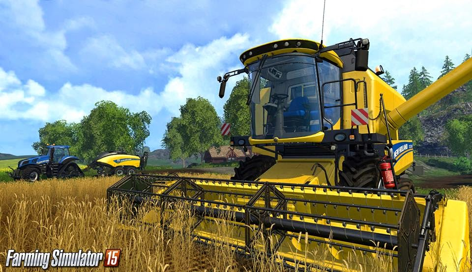 لعبة Farming simulator 15
