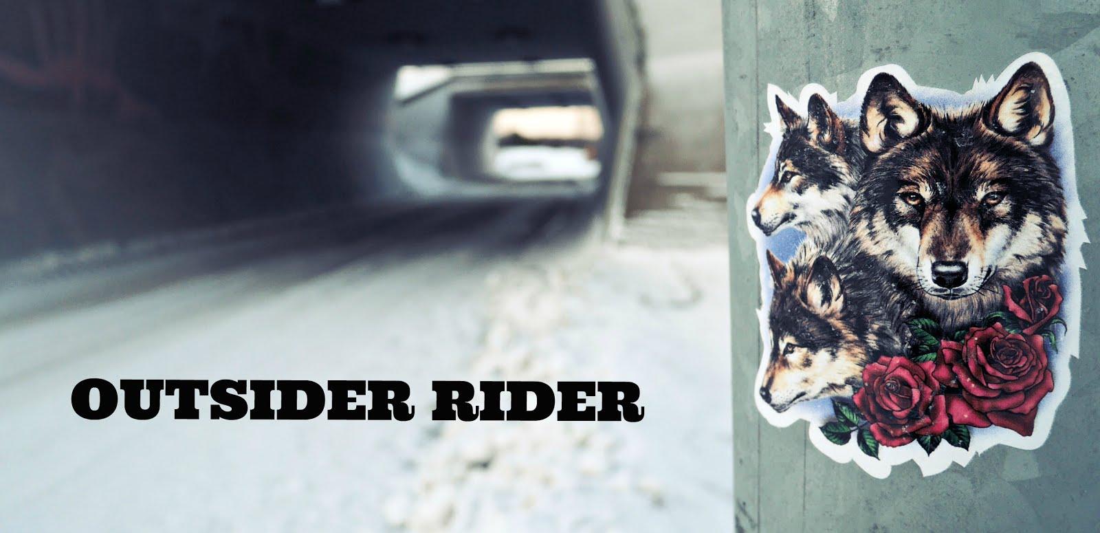 outsider rider