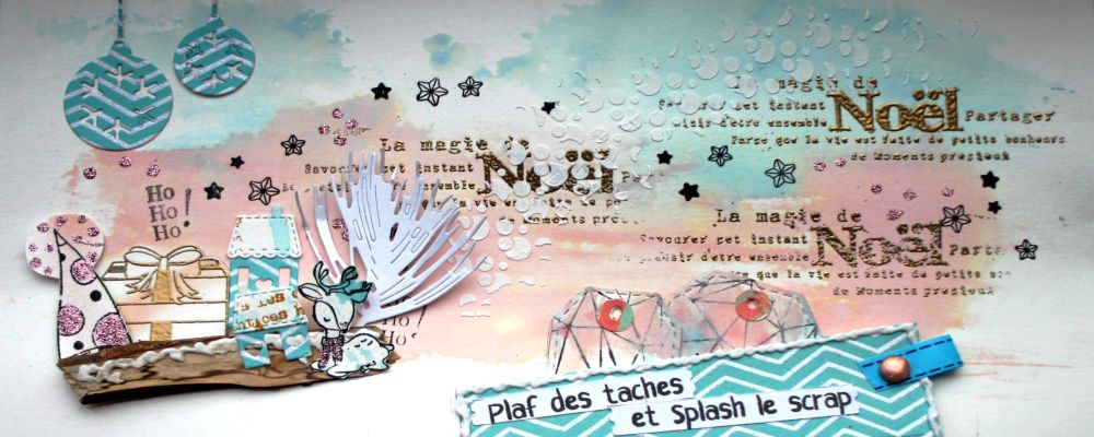 Plaf des taches et splash le scrap