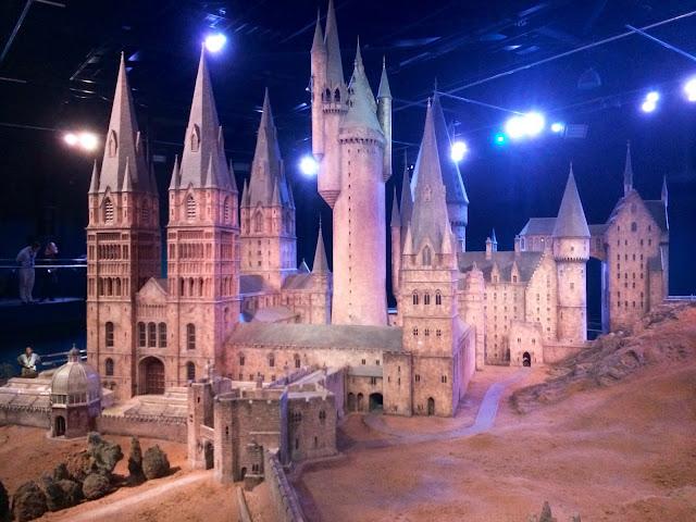The Making of Harry Potter - Hogwarts Castle